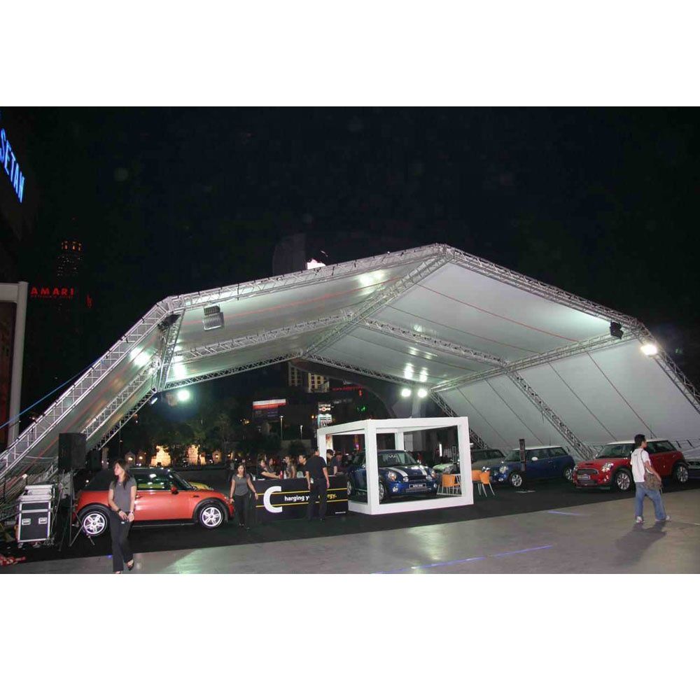 Mobile Outdoor Event <strong>Stage</strong> Truss Roof Canopy For Outdoor performance
