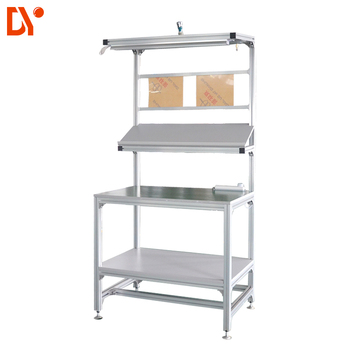 Magnificent Standard New Industrial Aluminium Workbench By Aluminium Profile Or Lean Pipe For Workshop View Workbench Diya Product Details From Ningbo Diya Ncnpc Chair Design For Home Ncnpcorg