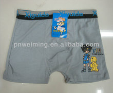excellent boy's inner boxer cute carton underwear