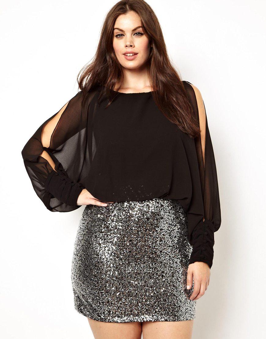 a73b559e6328 Fashion Women Short Sexy Sequin Skirts Plus Size - Buy Plus Size ...