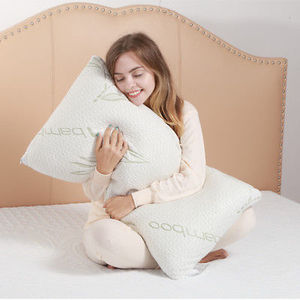 with 10 years experience for Hypo-Allergenic Shredded Bamboo High Density Memory Foam Sleeping Bed Pillow