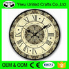Antique MDF Wall clock ,decorative wall clock with Western style for Church