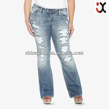 2017 Bootcut Jxl20977 Évasée Push Déchiré À Jambe jean Jeans Jean Grosse Femmes Botté Dame Buy Pour Up Élégant Up KclF1J