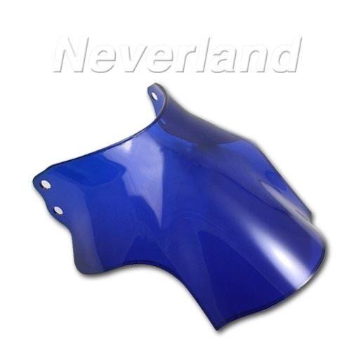 Синий мотоцикл гонки ветрового стекла лобовое стекло для Honda CB400 супер четыре CB400SF CB 400 SF C10