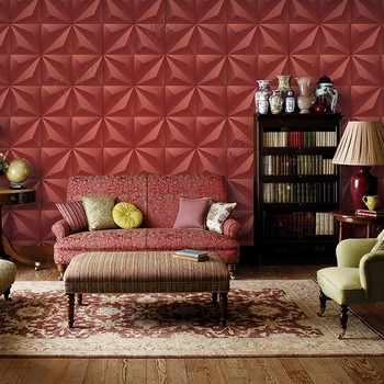 Interior Wall Panel Wallpaper Tv Background 3d Fashion Design Pvc