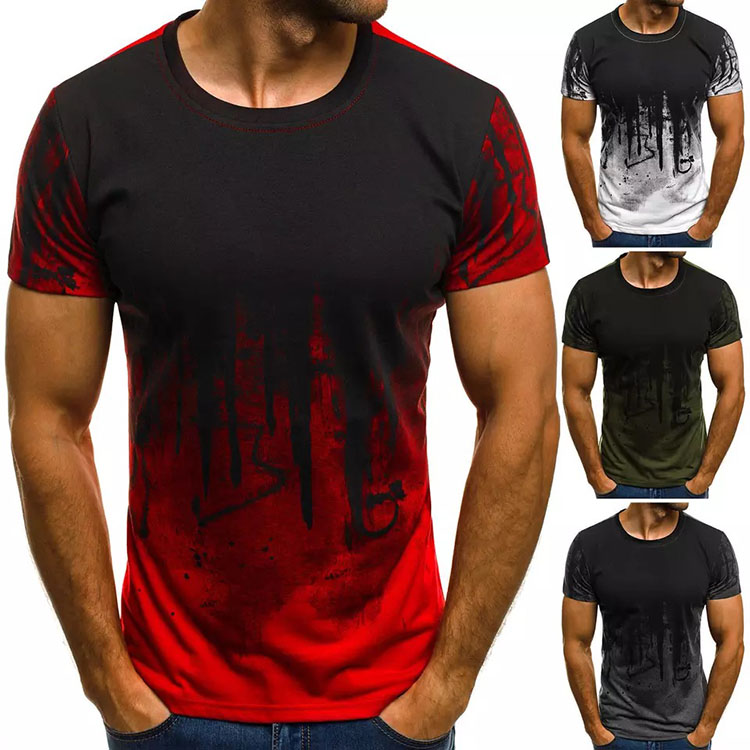 one piece fit light t shirt print your own friendly label free Polyester cotton t-shirt