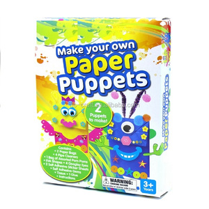 Make Your Own Paper Bag Puppets kids Craft Kits