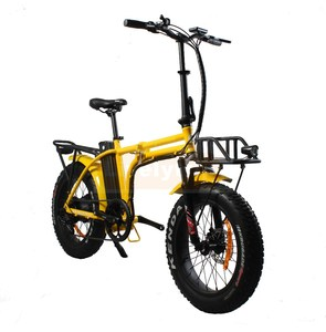 CE 48V 500W 30 mph charging awd e-bike folding electric fat bike