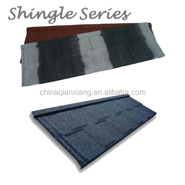 shingle serie interior decoration aluminum zinc steel roofing tile
