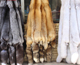 Red Fox fur skin / Natural Red Fox Fur / Real Red Fox Pelt