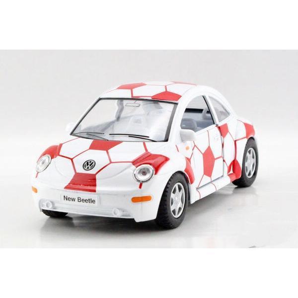 Maisto Yellow Smart Fortwo Open Door Diecast Metal Car: Children Kids Kinsmart Volkswagen Beetle Football Print