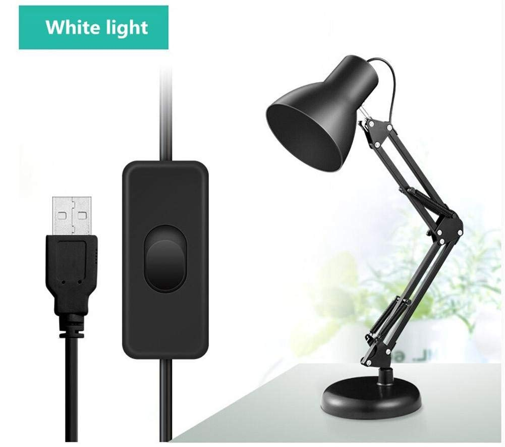 Desk Lamps Clip Desk Lamp Flexible Long Swing Arm Led Desk Lamp 6W Eye-Care Led Table Lamp Multi-Joint Led Reading Light, 1