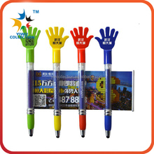 wholesale cartoon stylus retractable banner pens