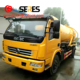 water pressure cleaning mini sewage suction tanker truck with factory price