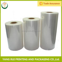 Buy direct from china factory Hot Factory Price pallet wrap plastic film roll,bopp film rolls,plastic film roll