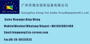 Xion-Yun di Fabbrica 80 PET Crytal Luce Ambiente Rifiutare Ultra Short Throw Proiettore 3D 4 k Schermo con Strette cornice per la Promozione