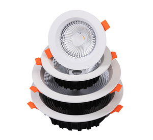 3 years warrranty RA90 ,Lumen90 ,IP44 cob led downlight,Recessed led cob downlight