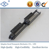 S110 conveyor bush chains ANSI standard pitch 152.40 precision engineering steel conveyor bush chain with A1 attachment