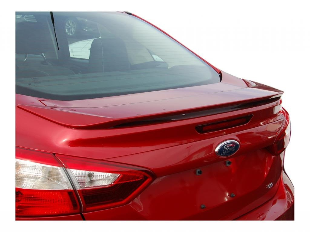 Buy Ford Focus Spoiler Painted In The Factory Paint Code Of Your