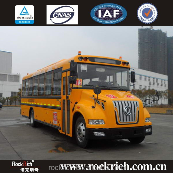 Factory outlets price famous dongfeng school bus 10m 52 seater school bus dimensions