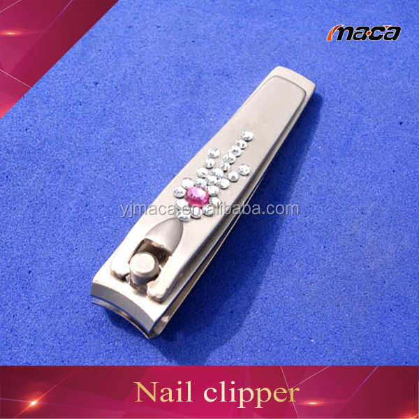Best quality carbon steel crystal fancy nail clippers wholesale