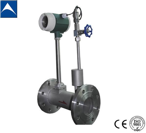 Lugb Vortex Gas Flow Meter With Temperature And Pressure Compensation/2088  Pressure Transmitter/pt100 Thermal Resistance - Buy Air Flow Meter,Vortex