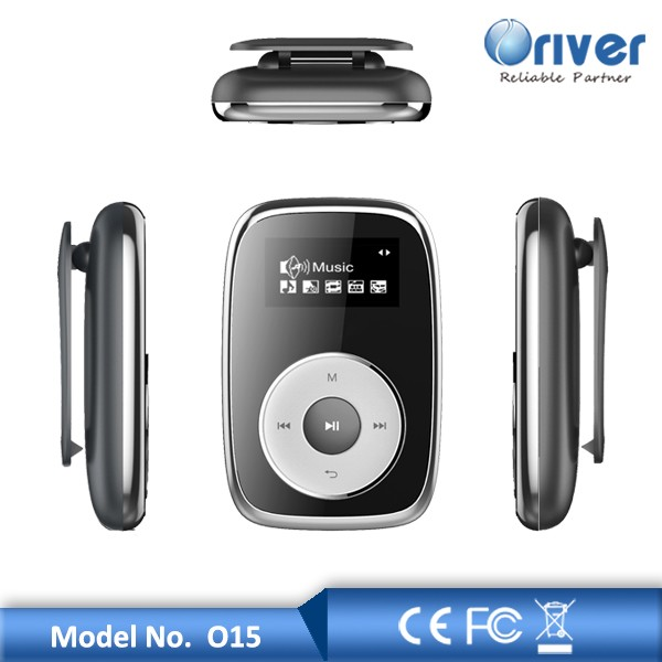 1.0inch MP3 MP4 with clip, extended memory card, FM and recording