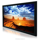 120 Inch Home Theater Fixed Frame Projector Screen / Wall Mount Projection Screen