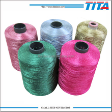 High Tenacity Dope Dyed 100% Polyester Uv Resistant Sewing Thread
