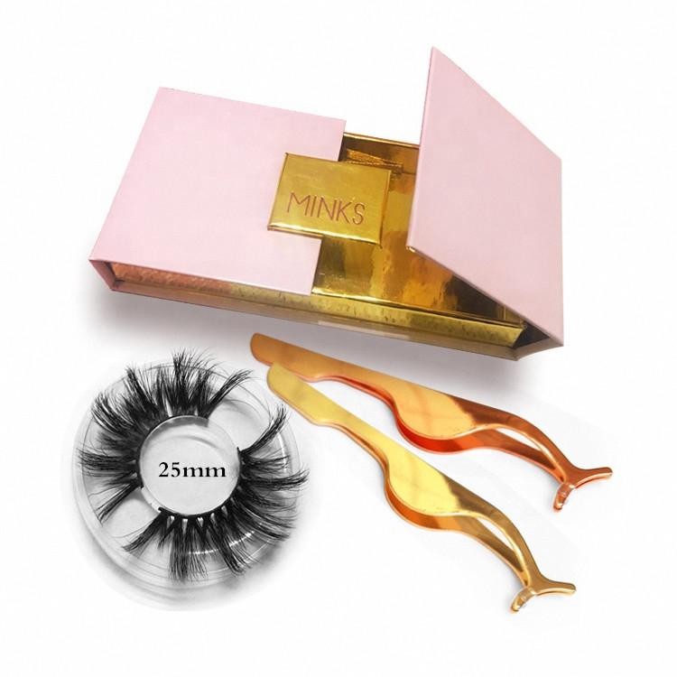 Wholesale mink eyelashes folding magnetic case eyelash box custom eyelash packaging with private label gold foil stamping logo, N/a