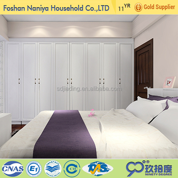 Charmant Teenager Furniture Bedroom With Plywood Almirah Design