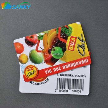 Plastic pvc business card printing with barcode buy pvc card plastic pvc business card printing with barcode reheart Choice Image