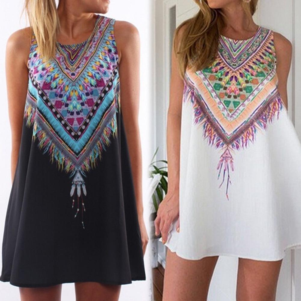 43c2ce724d2 Wholesale-Vintage Floral Dress Female 2016 Summer Women New Mini ...