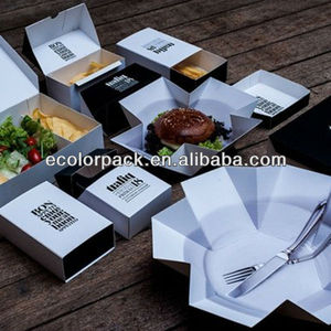 creative fast food packaging box design