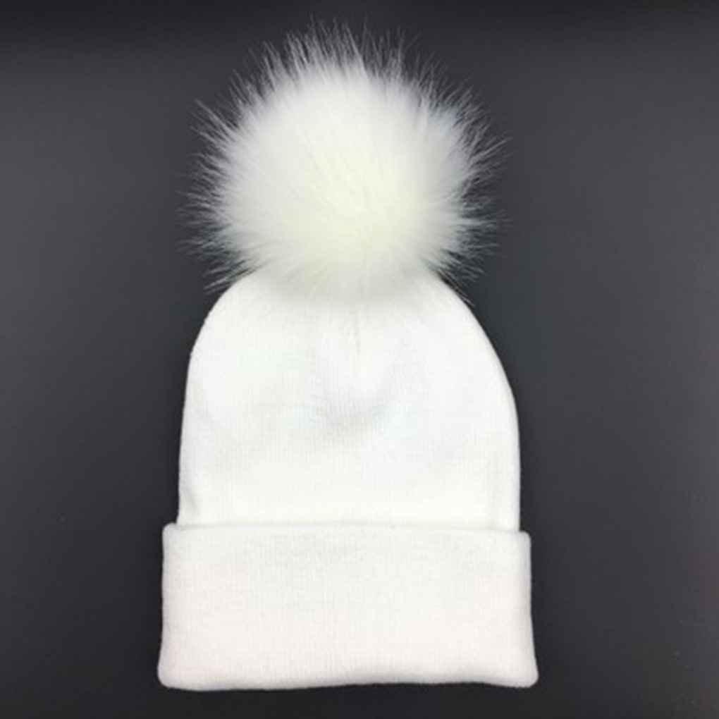 Bobury Women Girl Winter Pompom Crochet Knitted Hat Casual Beanie Hat Warm Ball Hat Cap Beanie Bonne