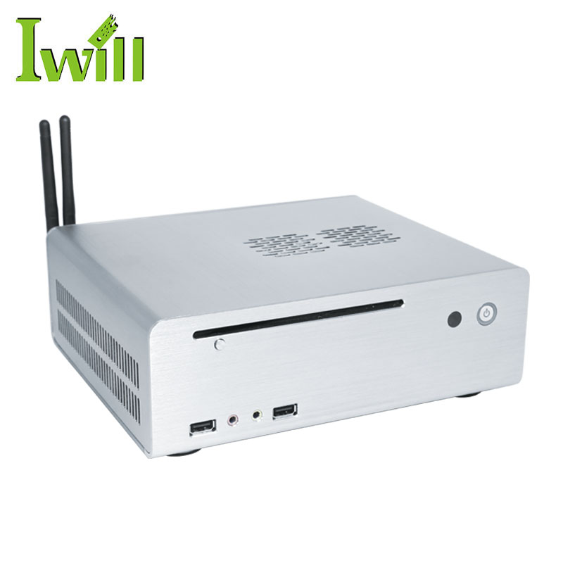 2017 Specialized Intel Core I5 4460 CPU Computer Dual Lan Thin Client Linux Mini Desktop PC Host With WiFi And 1HD Port