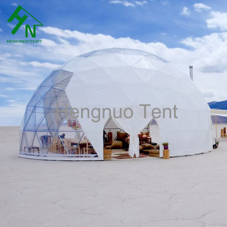 10m Beach C&ing Dome Tent Gl&ing With Large Sky Window & 10m Beach Camping Dome Tent Glamping With Large Sky Window - Buy ...