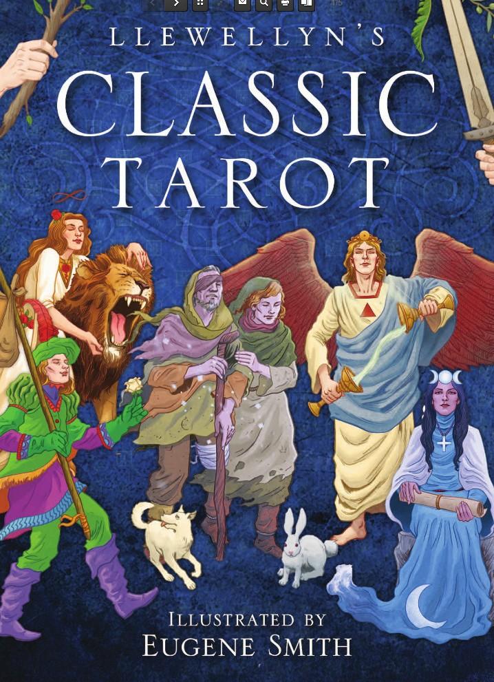 Tarot Spot Imported Genuine Llewellyn Classic Tarot Card