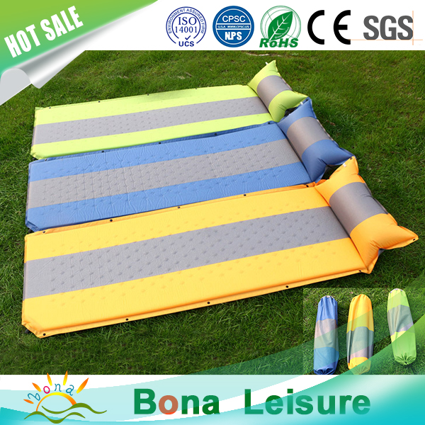 Cozy Portable Lightweight Self Inflatable sleeping mat/matress for camping and hiking