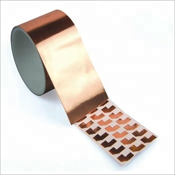 High Temp Emi Sheilding Self Adhesive Copper Foil Conductive Adhesive Tape for Transformer