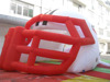 inflatable entrance tunnel,inflatable bulldog tunnel,inflatable helmet tunnel