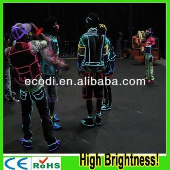 Aus!! Hohe Helligkeit!! Polarlicht Flexible Neonlicht Glut El Draht ...