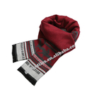 Wholesale custom embroidered soft multifunctional cashmere men and women knit scarf