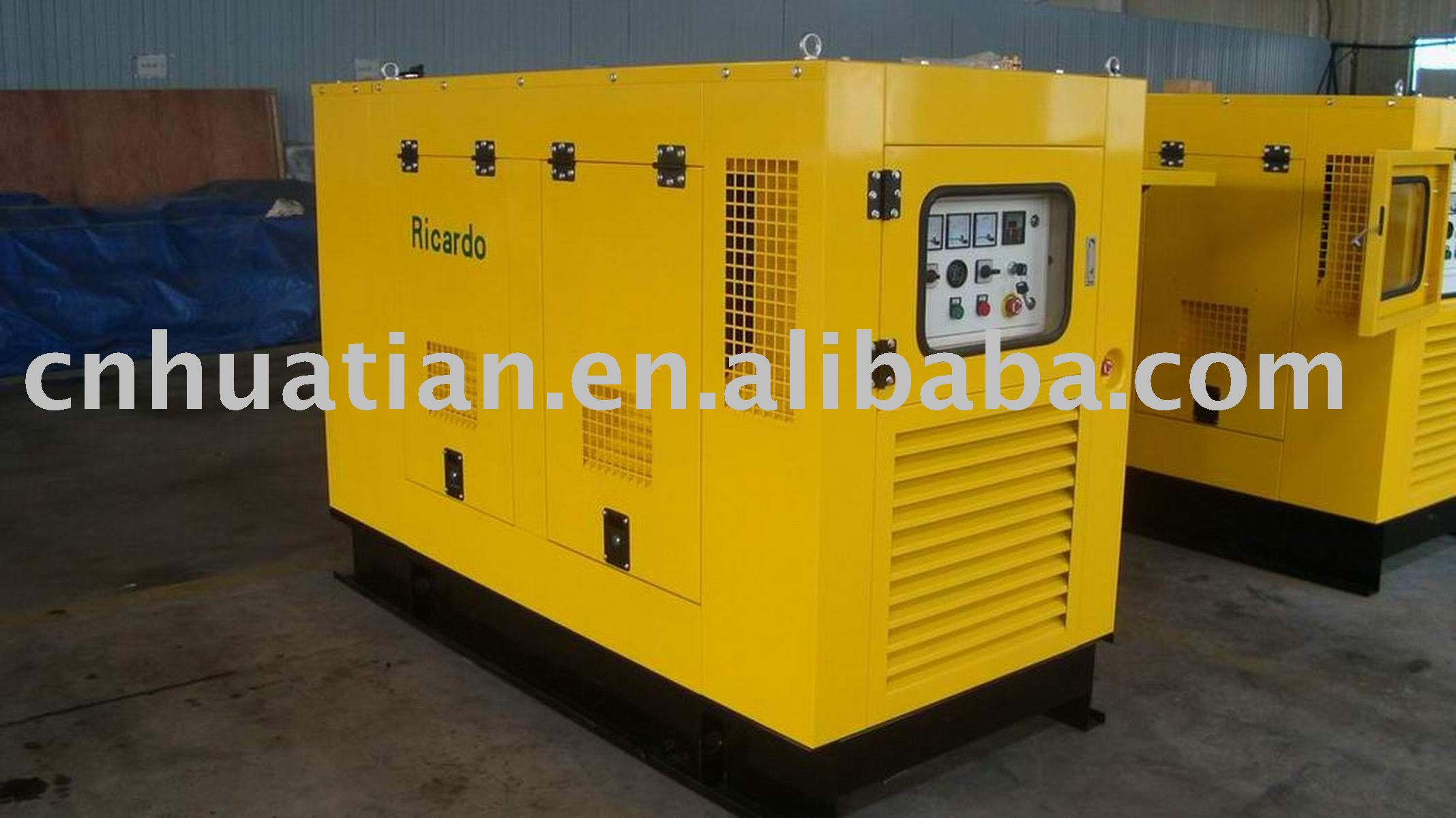 Silent Type Power Generator with Rated Output of 10 to 2,200kVA and Rated Speed of 1,500/1,800rpm