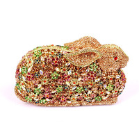 2017 fashion indian fancy women crystal stone evening bag beaded night party gift bags