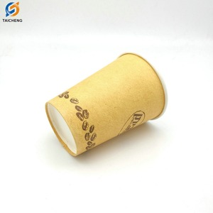 Professional design custom logo printing beverage paper cup, biodegradable paper cup