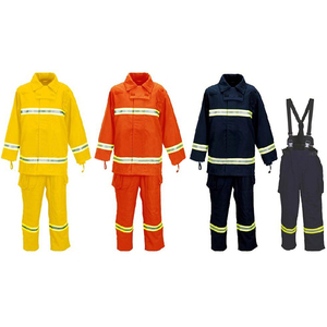 Safety nomex firefighting suit for firefighter