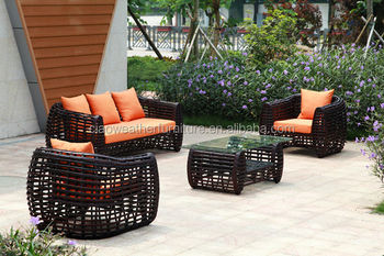 All Weather Poland Style Poly Rattan Garden Treasure Outdoor Furniture With  Polyrattan