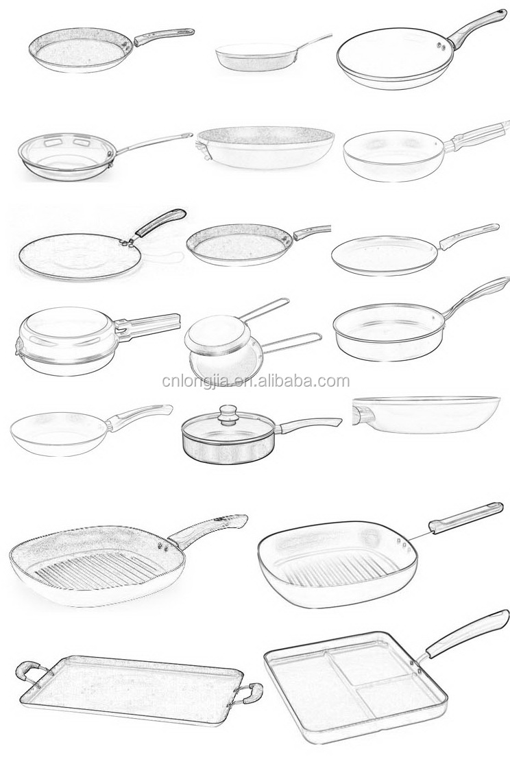Cute Tiny 4.5inch Aluminum Nonstick Mini Frying Pan Best for Cooking Eggs, Image customizable