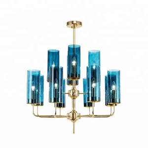 New Products cup type Glass Chandelier for Home Hotel